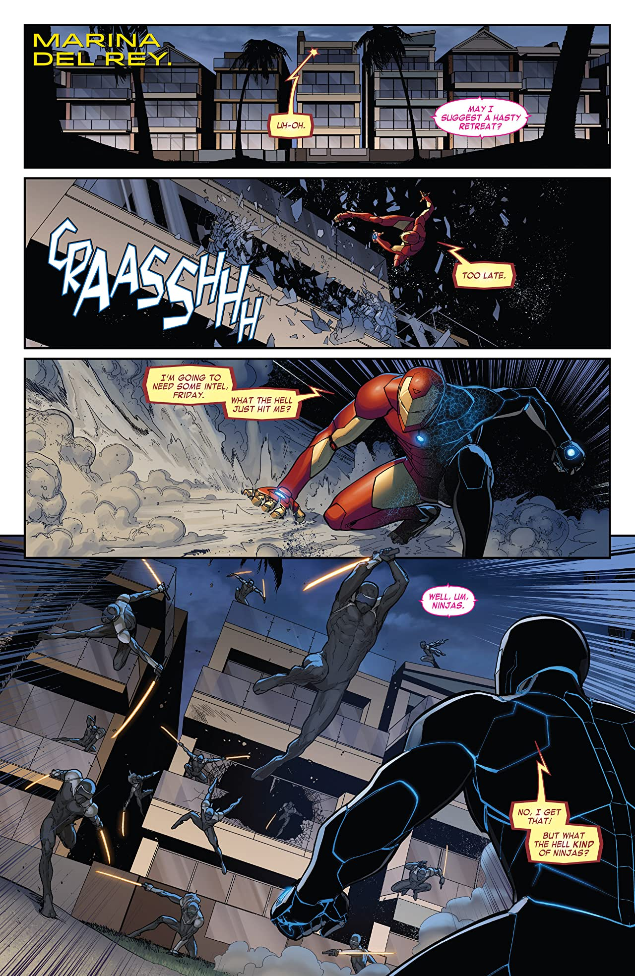 Invincible Iron Man (2015-2016) #4