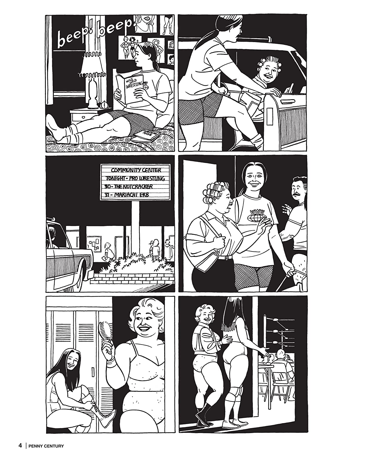 Penny Century: The Love & Rockets Library - Locas Book 4