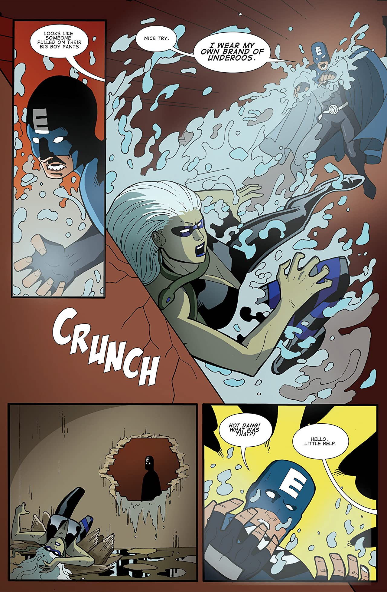 The Misadventures of Electrolyte and The Justice Purveyors #3