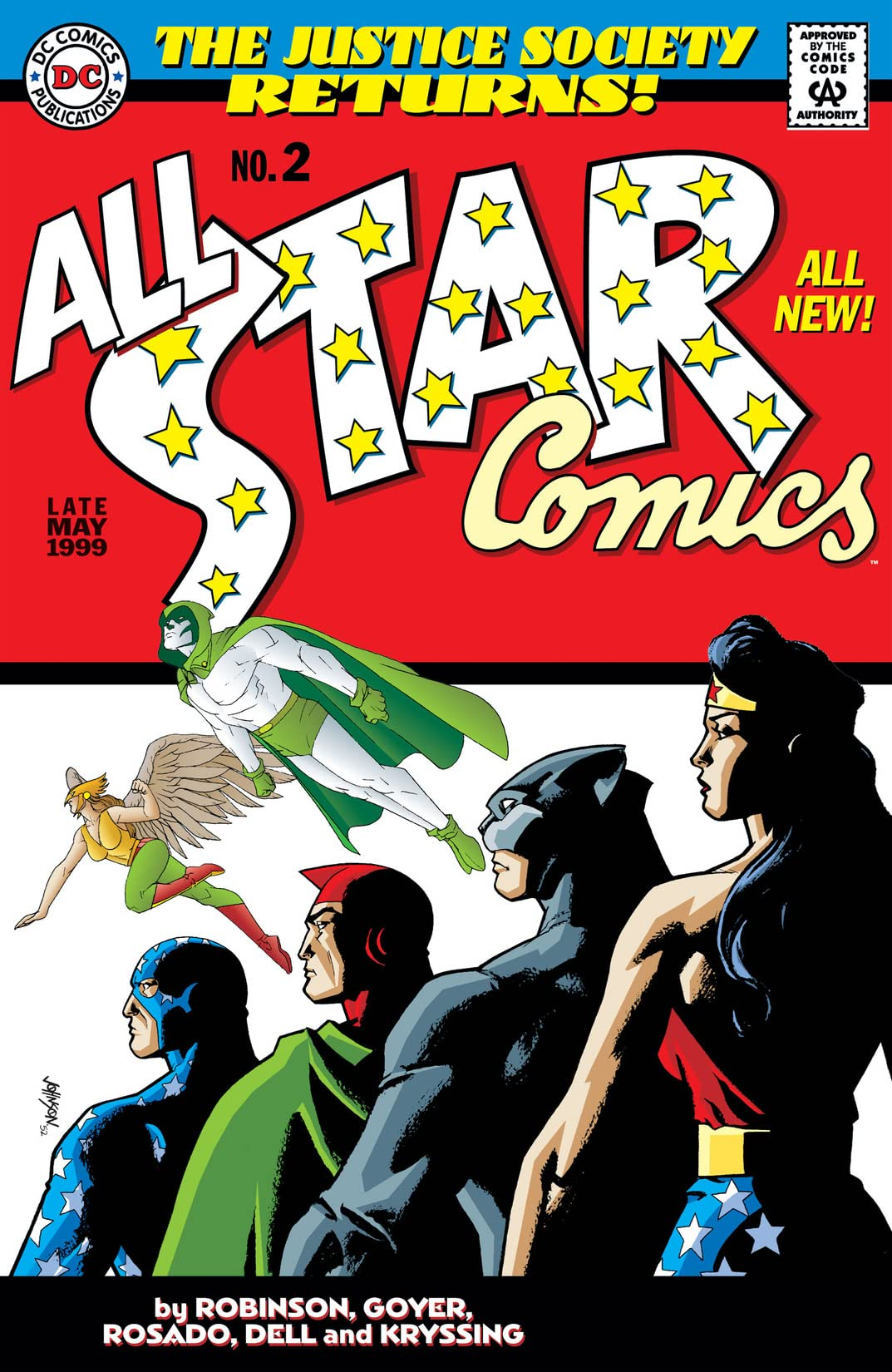 All-Star Comics (1999) #2