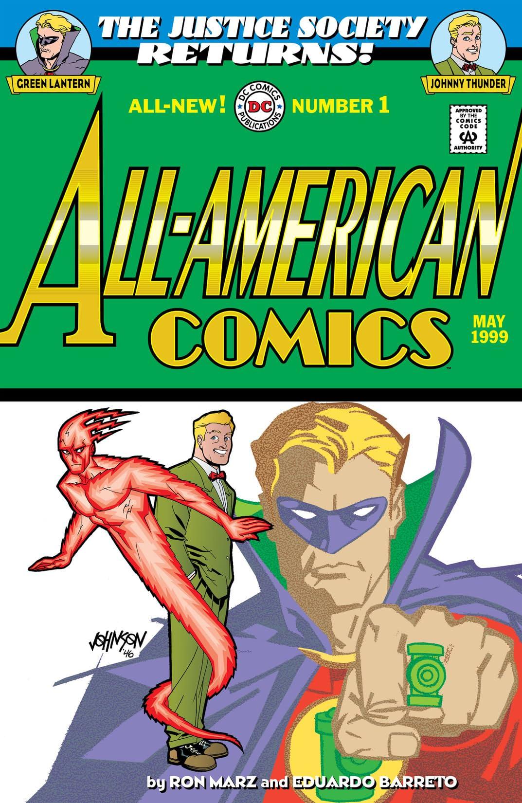 All-American Comics (1999) #1