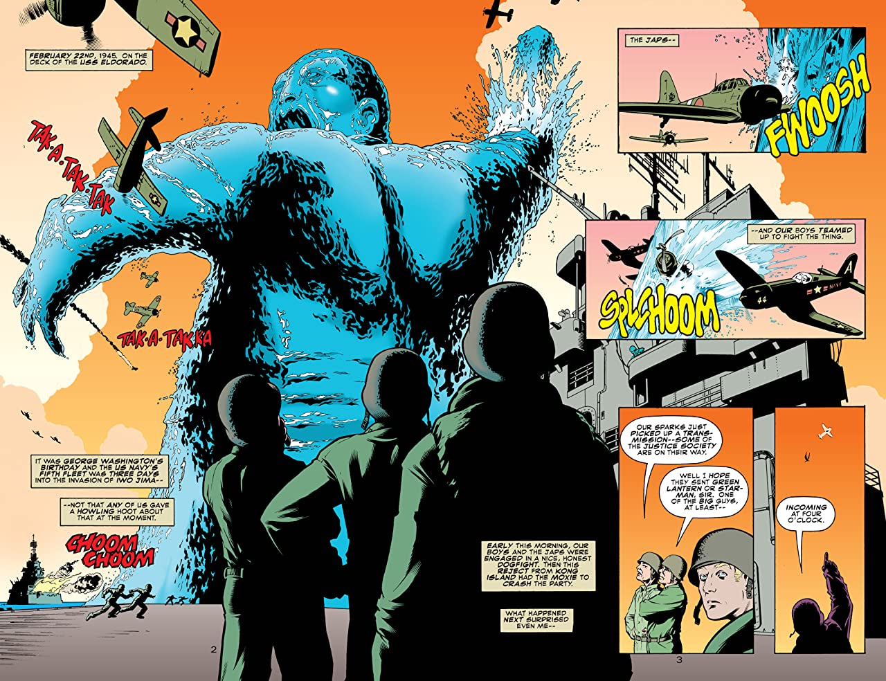 Sensation Comics (1999) #1
