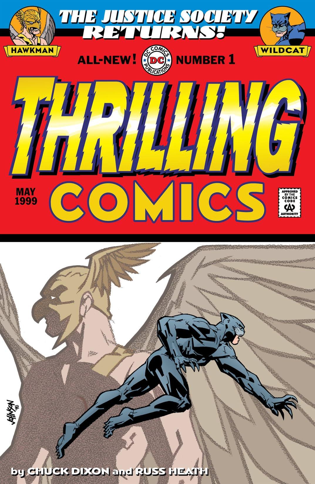 Thrilling Comics (1999) #1