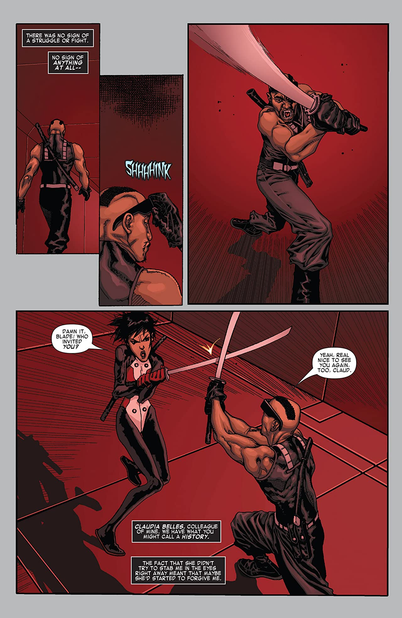 X-Men: Curse of the Mutants - Blade (2010) #1