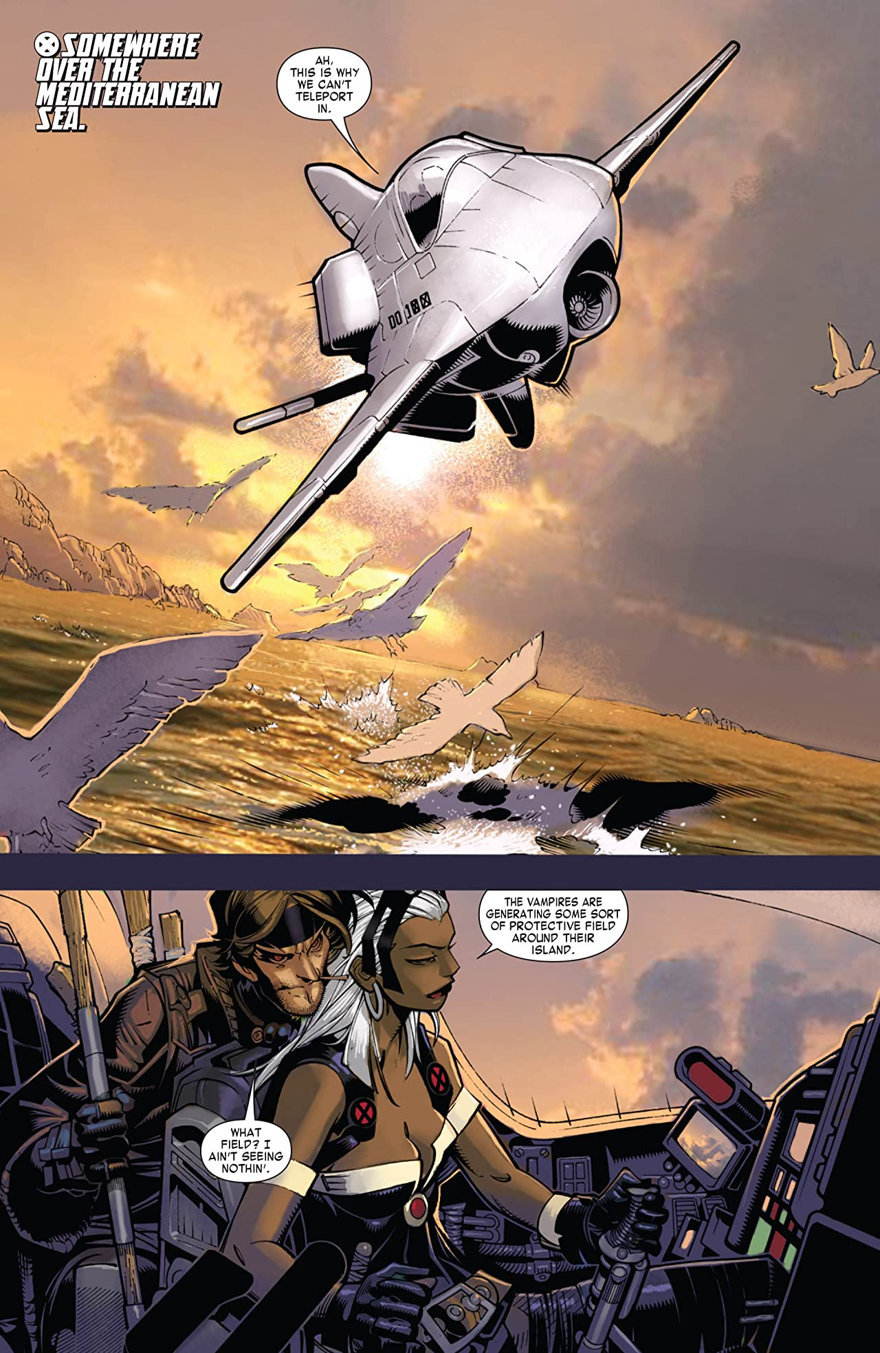 X-Men: Curse of the Mutants - Storm & Gambit (2010) #1