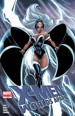 X-Men: Worlds Apart (2008-2009) #1 (of 4)