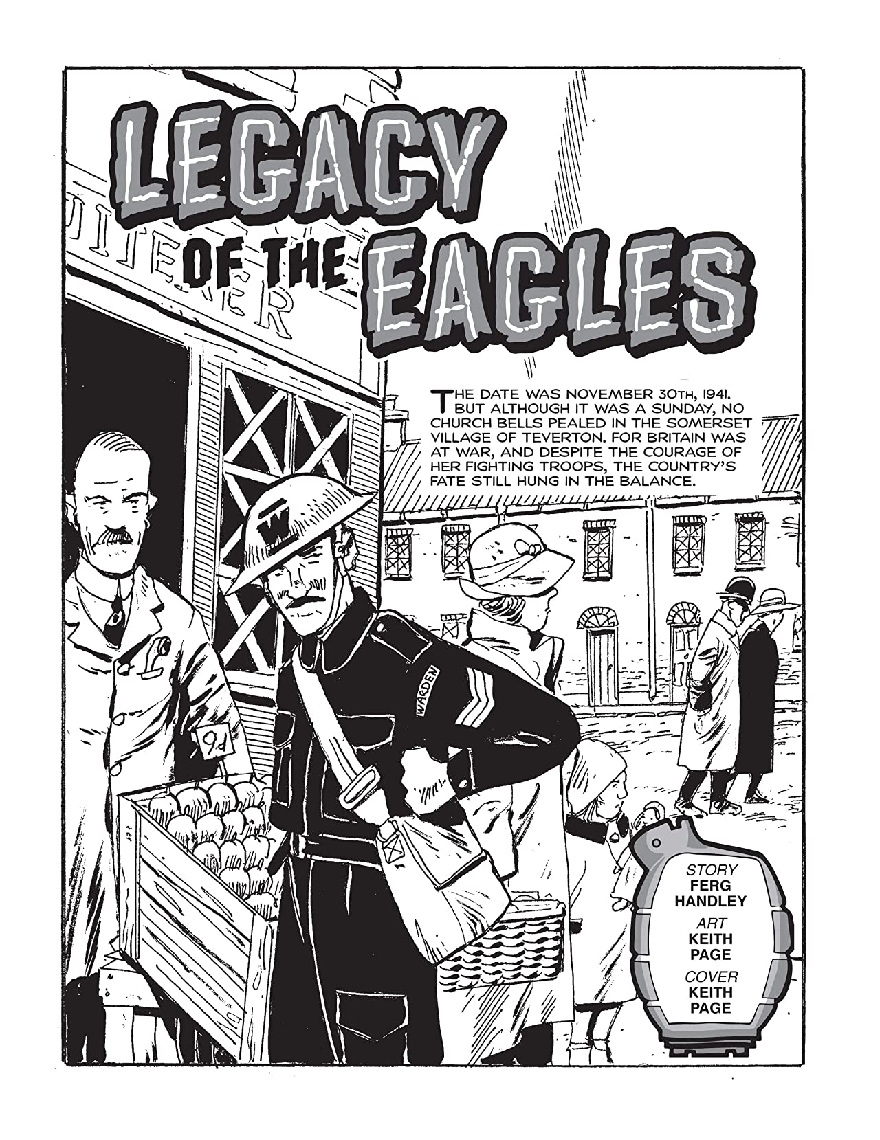Commando #4863: Legacy Of The Eagles