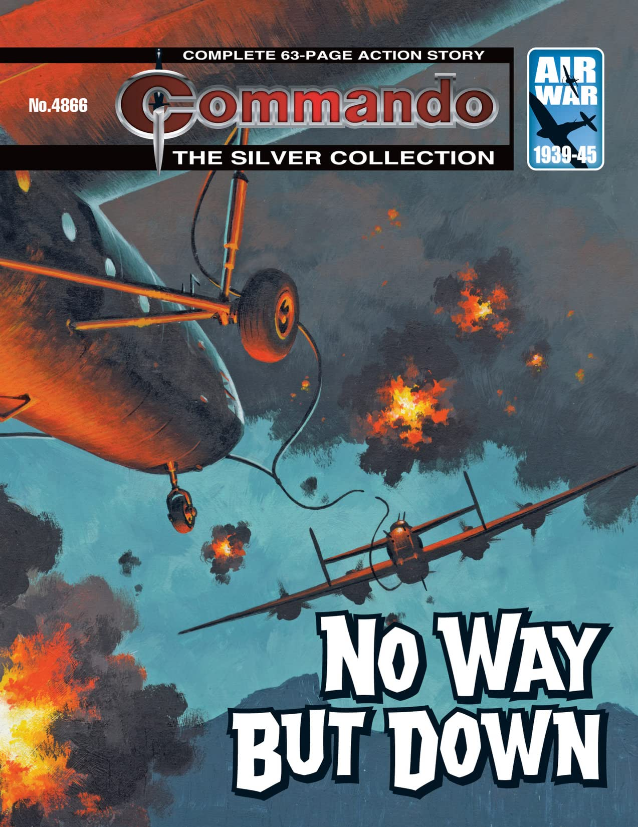 Commando #4866: No Way But Down