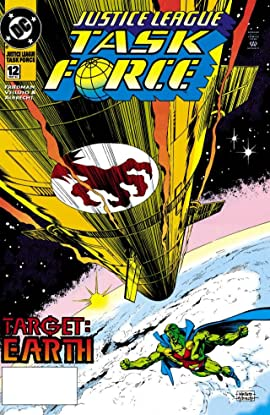 Justice League Task Force (1993-1996) #12
