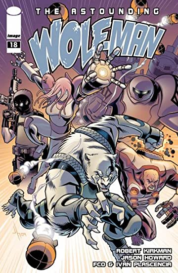 The Astounding Wolf-Man #18