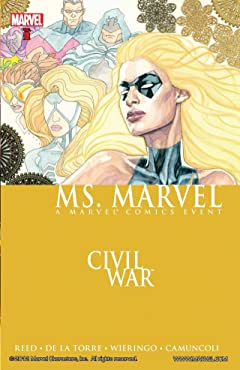 Ms. Marvel Tome 2: Civil War