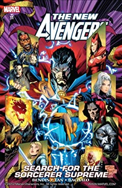 New Avengers Vol. 11: Search for the Sorcerer Supreme