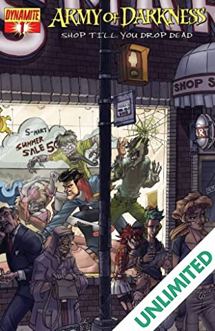 Army of Darkness: Shop Till You Drop Dead #1