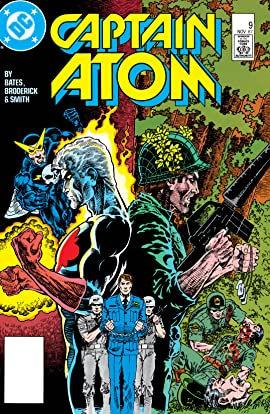 Captain Atom (1986-1991) No.9