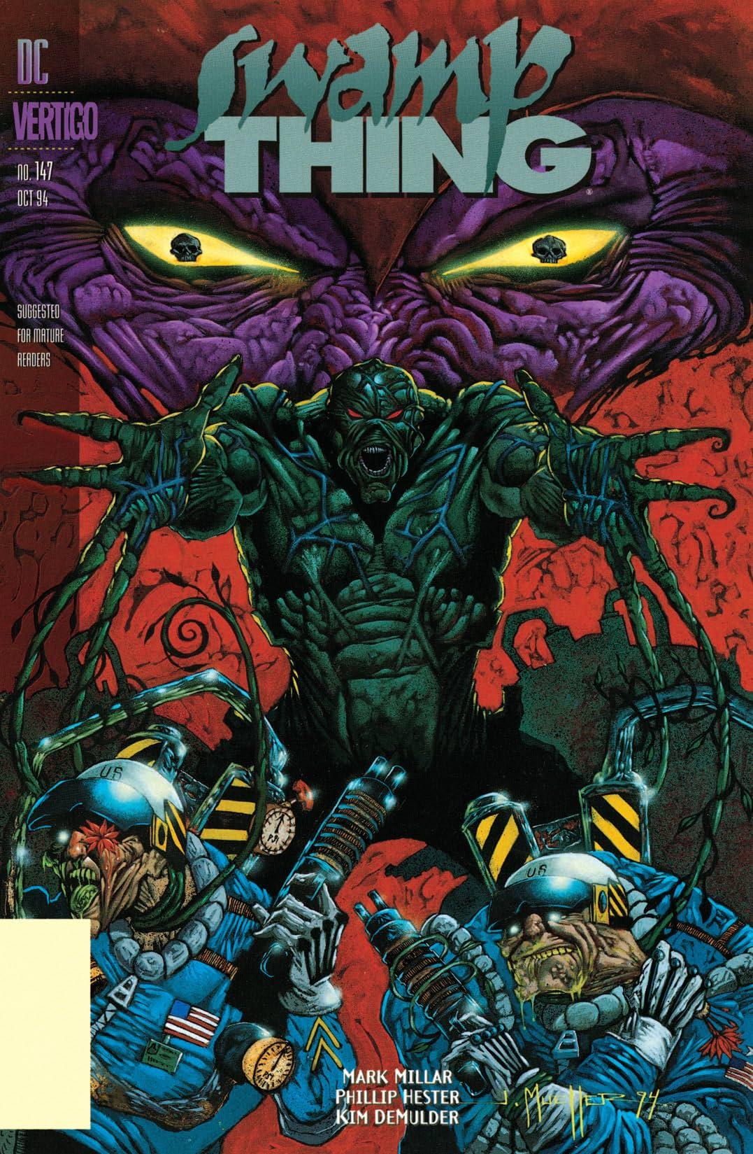 Swamp Thing (1982-1996) #147