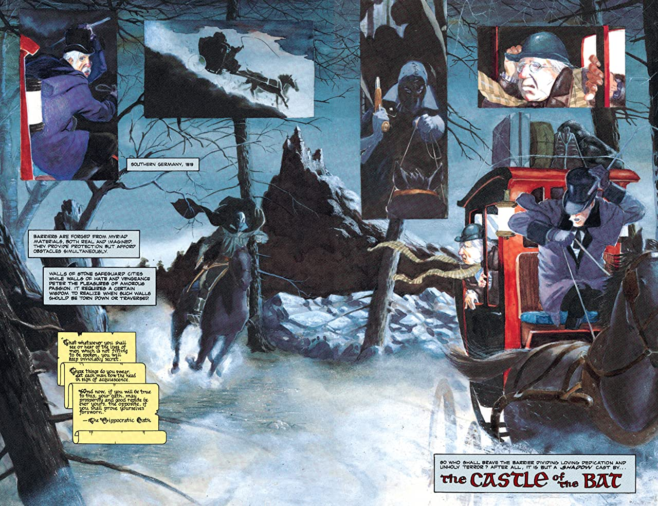 Batman: Castle of the Bat (1994) #1