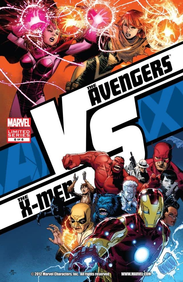 AVX: VS. No.6 (sur 6)