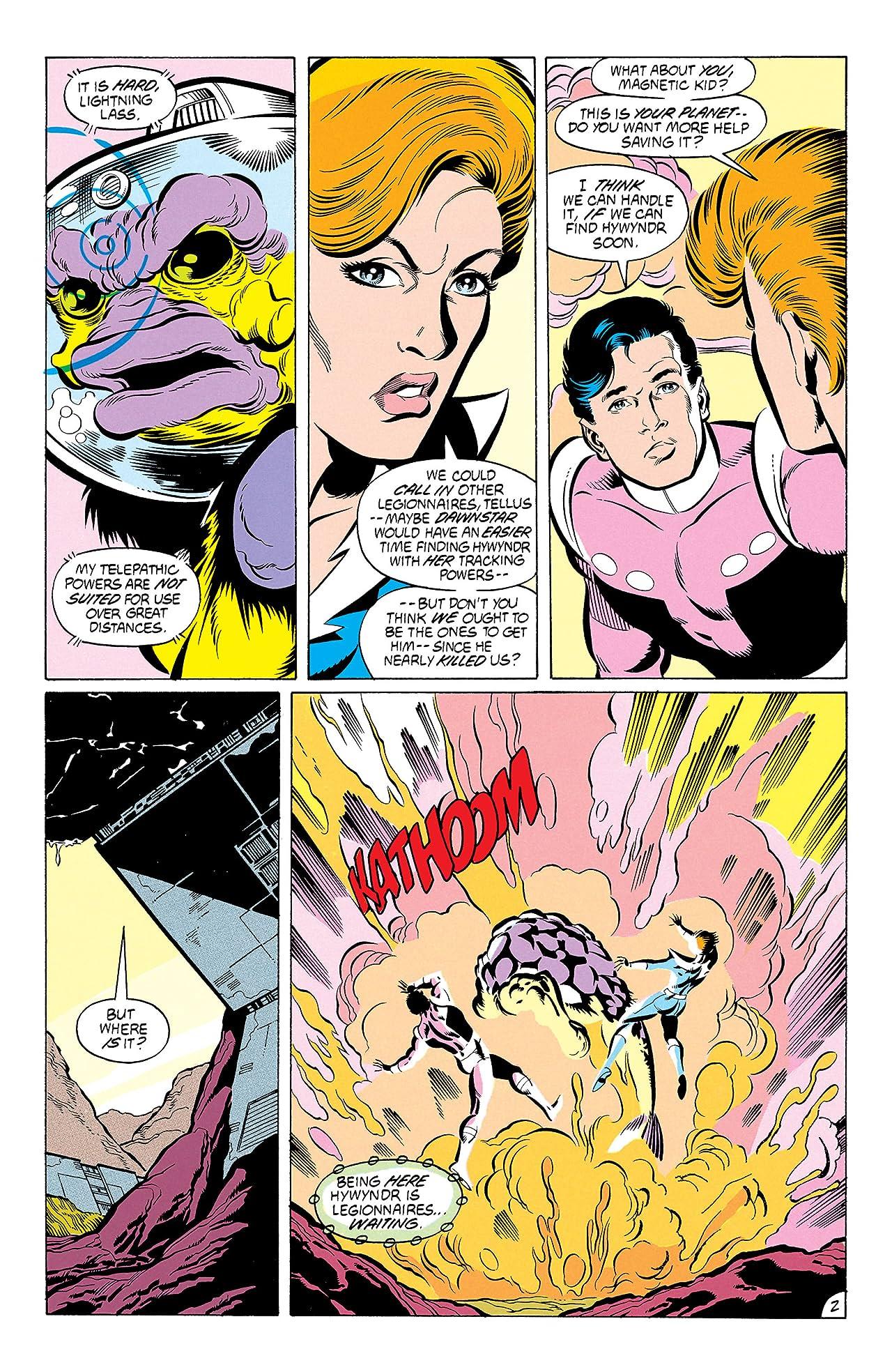 Legion of Super-Heroes (1984-1989) #53
