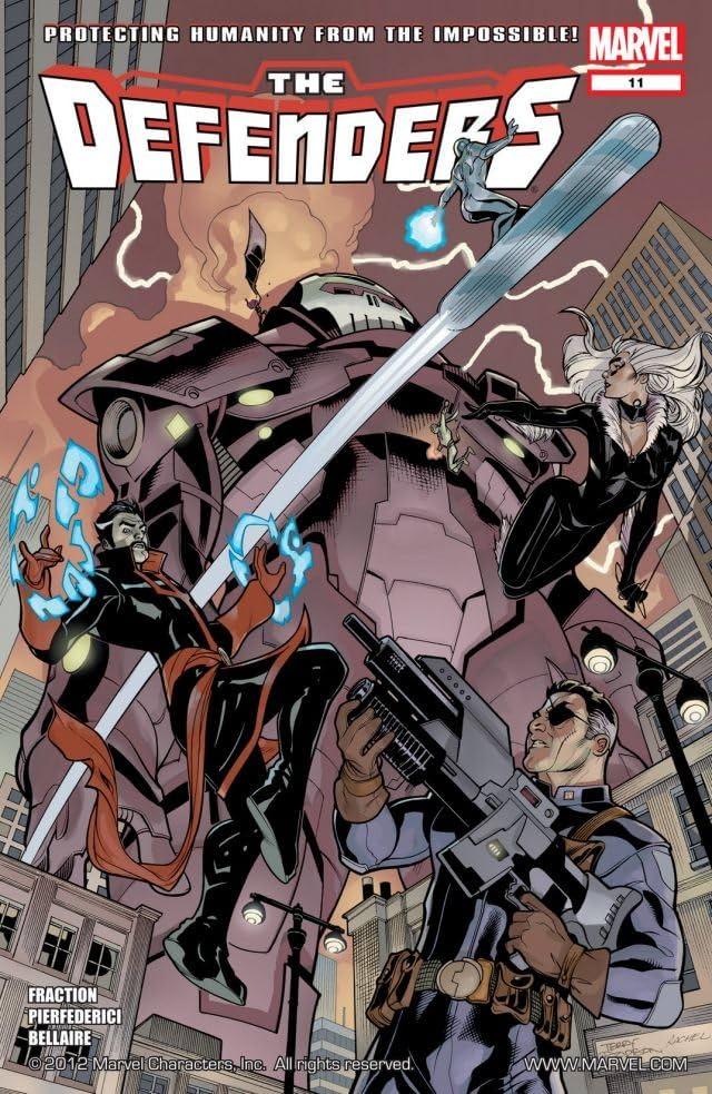 Defenders (2011-2012) #11