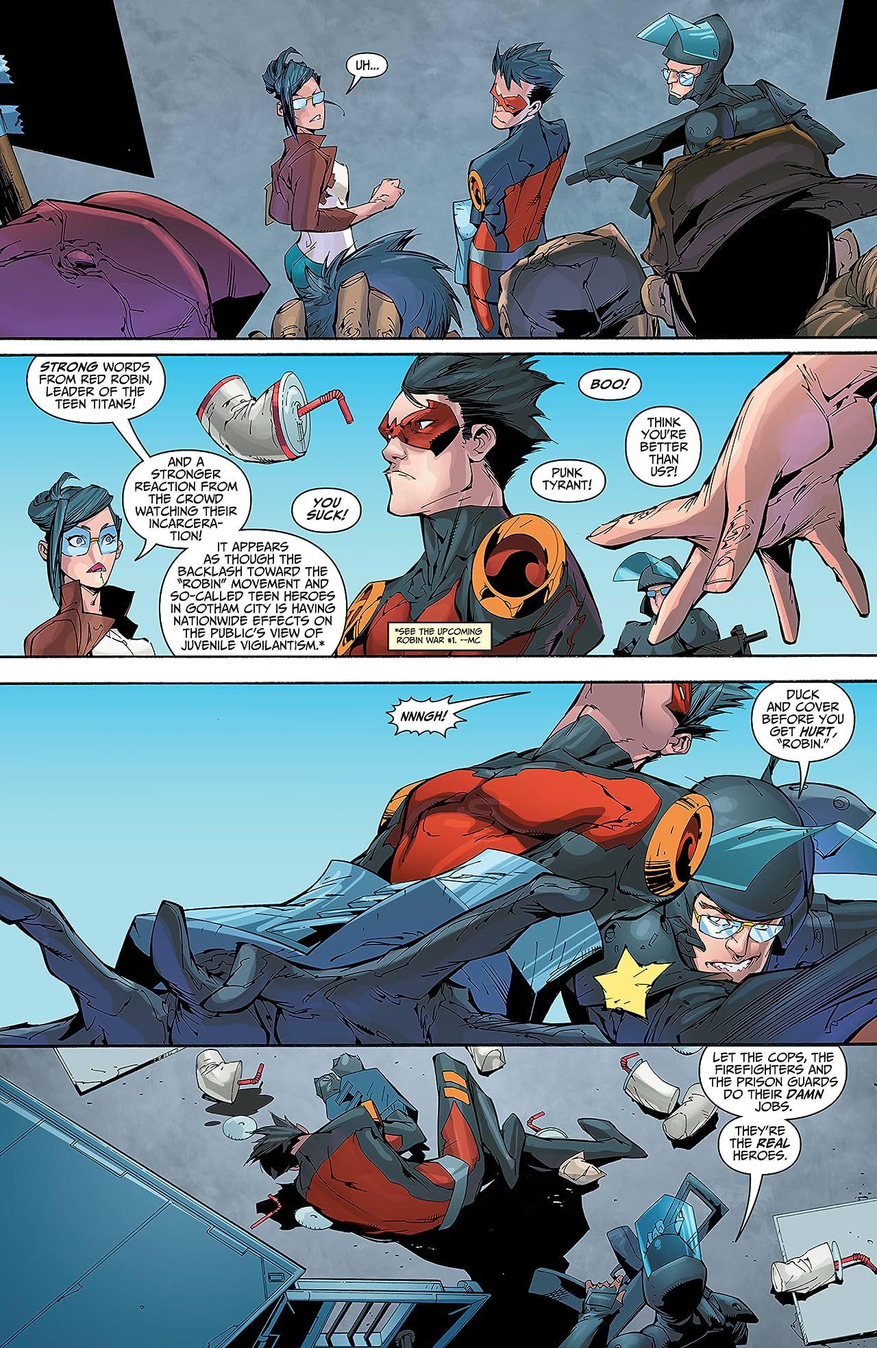 Teen Titans (2014-2016) #14