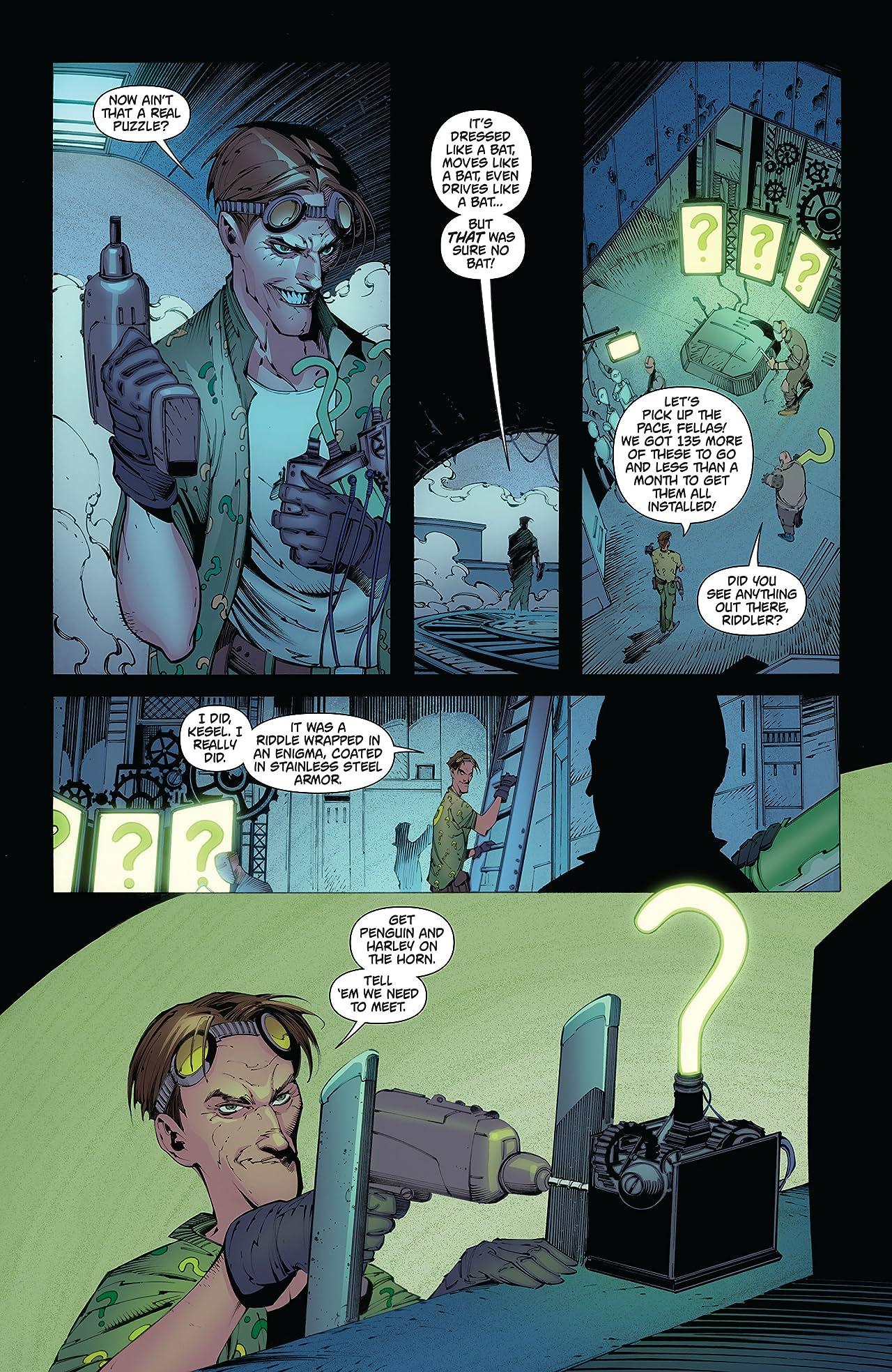 Batman: Arkham Knight (2015-2016): Print Version #11