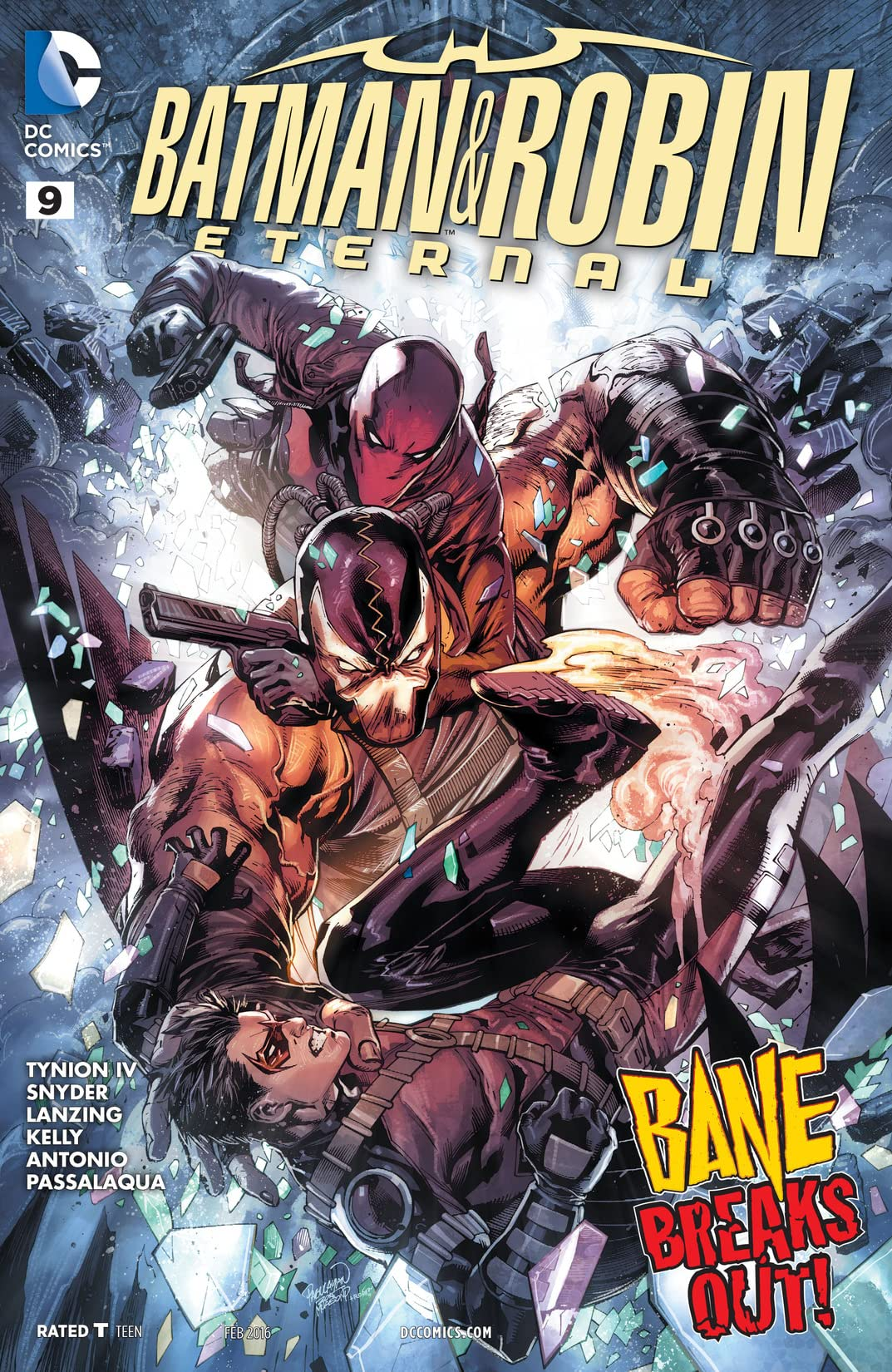 Batman & Robin Eternal (2015-2016) #9