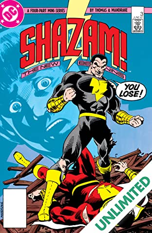 Shazam! The New Beginning (1987) #3