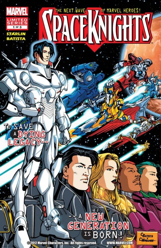 Spaceknights #1 (of 3)