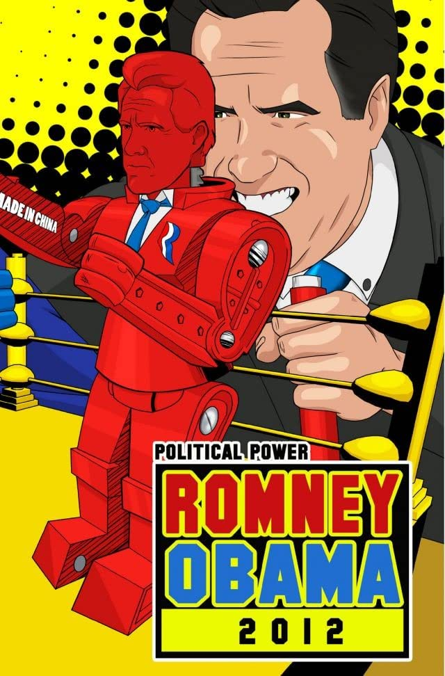 Political Power: Romney Obama 2012