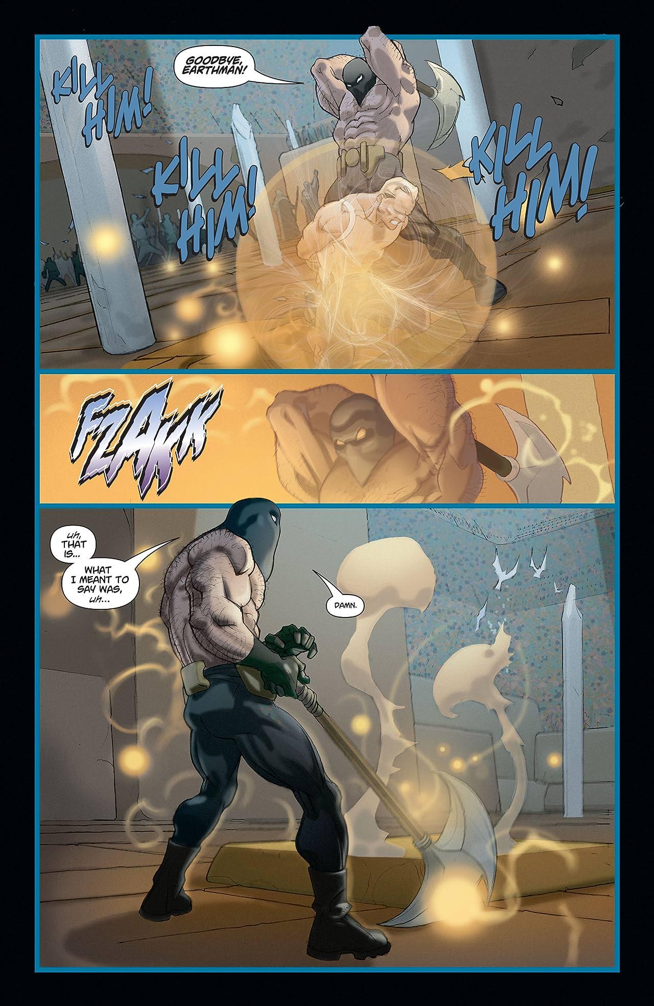 Adam Strange (2004-2005) #4