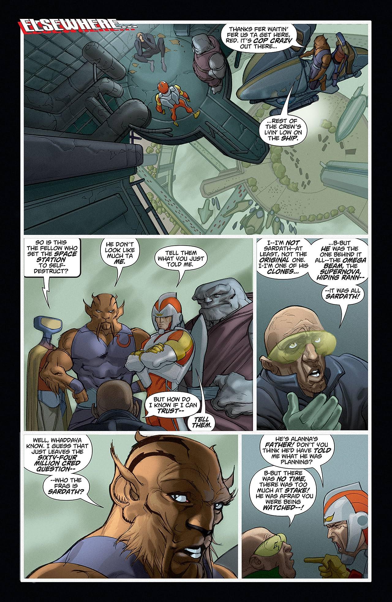 Adam Strange (2004-2005) #6