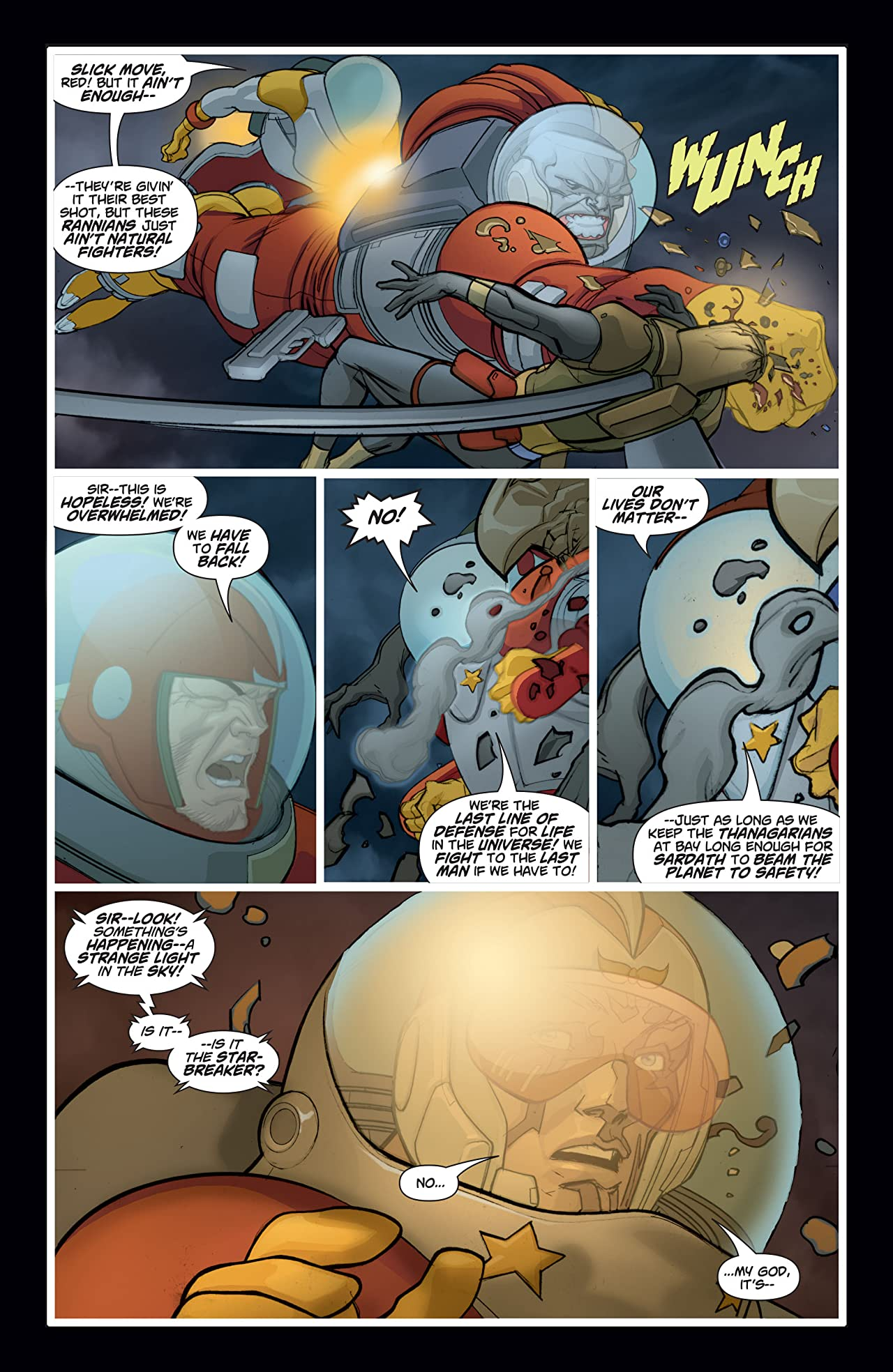 Adam Strange (2004-2005) #8
