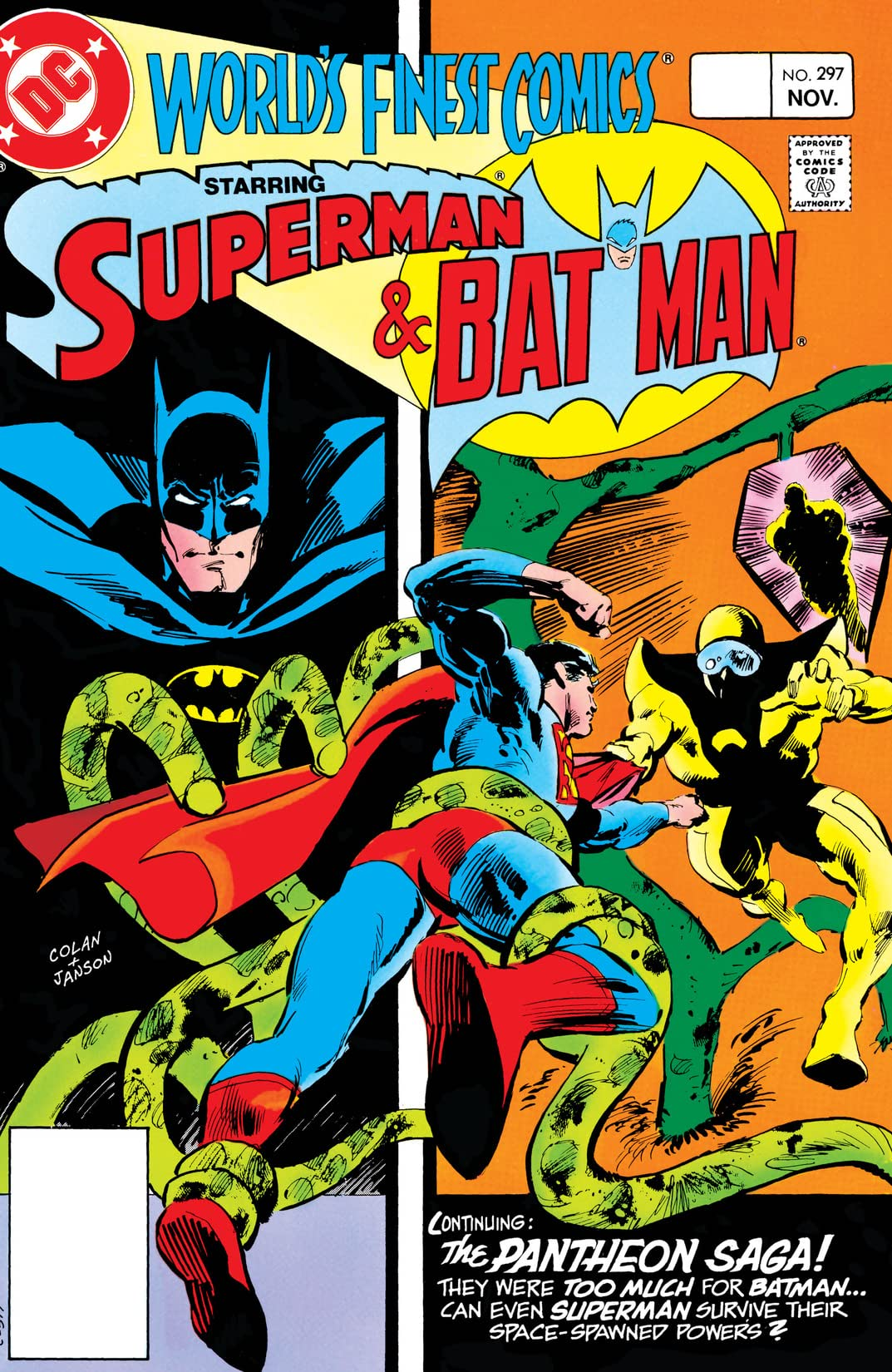 World's Finest Comics (1941-1986) #297