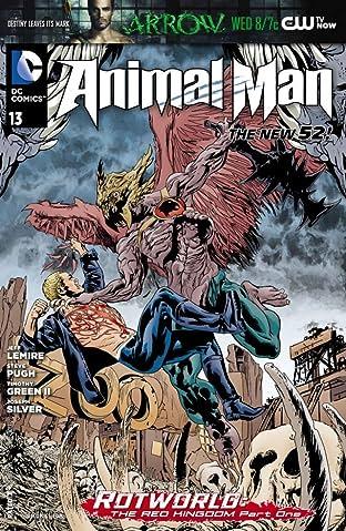 Animal Man (2011-2014) #13