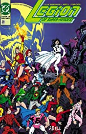 Legion of Super-Heroes (1989-2000) #25