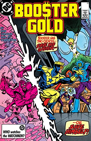 Booster Gold (1986-1988) #21