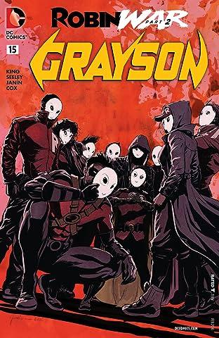 Grayson (2014-2016) No.15