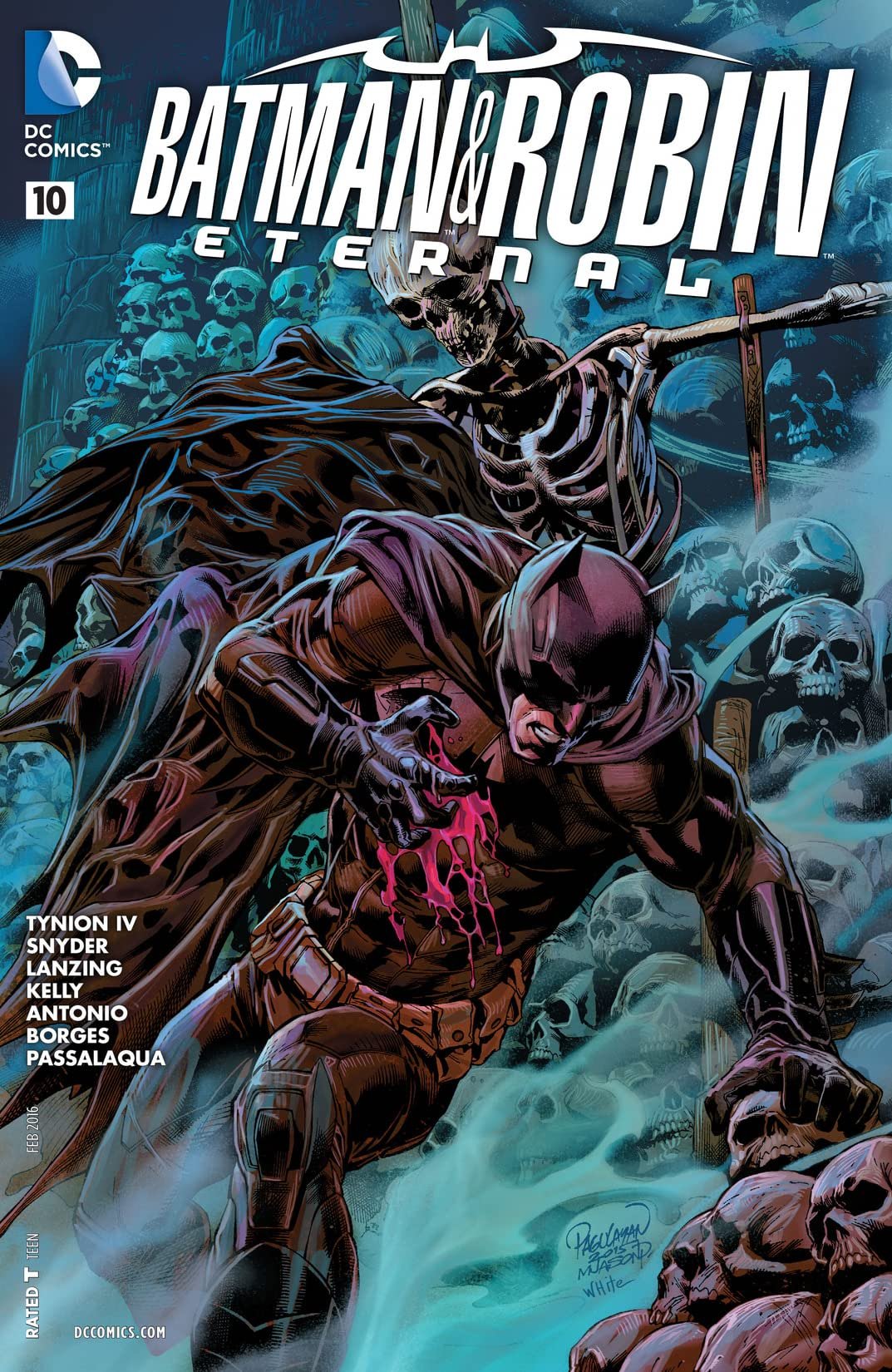 Batman & Robin Eternal (2015-2016) #10