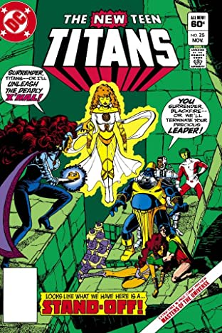 New Teen Titans (1980-1988) #25