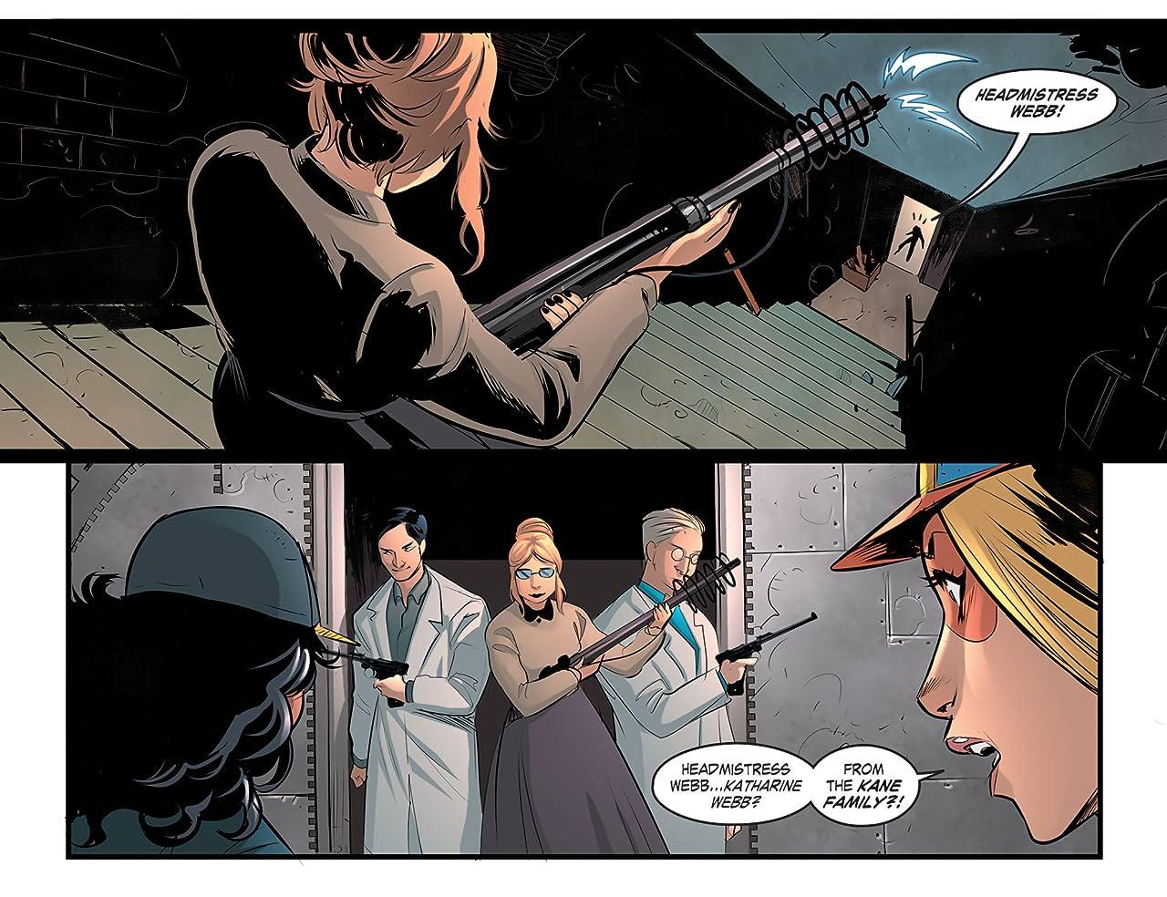DC Comics: Bombshells (2015-2017) #21