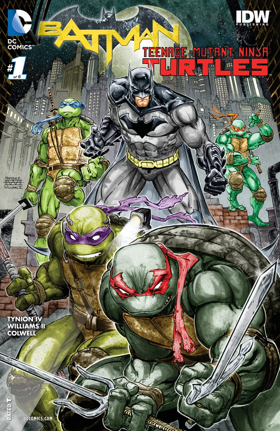 Batman/Teenage Mutant Ninja Turtles (2015-2016) #1