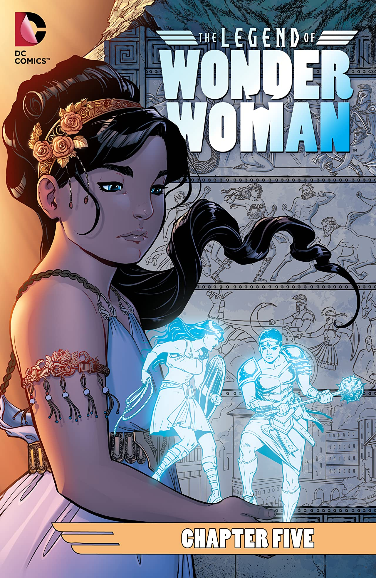 The Legend of Wonder Woman (2015-2016) #5