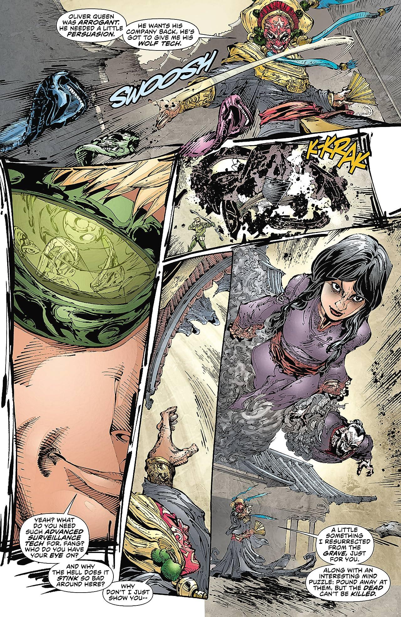 Green Arrow (2011-2016) #13