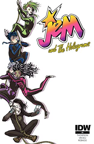 Jem and the Holograms (2015-2017) #9