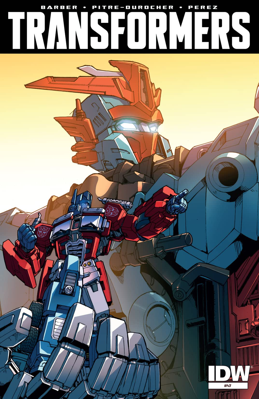 Transformers (2011-) #47