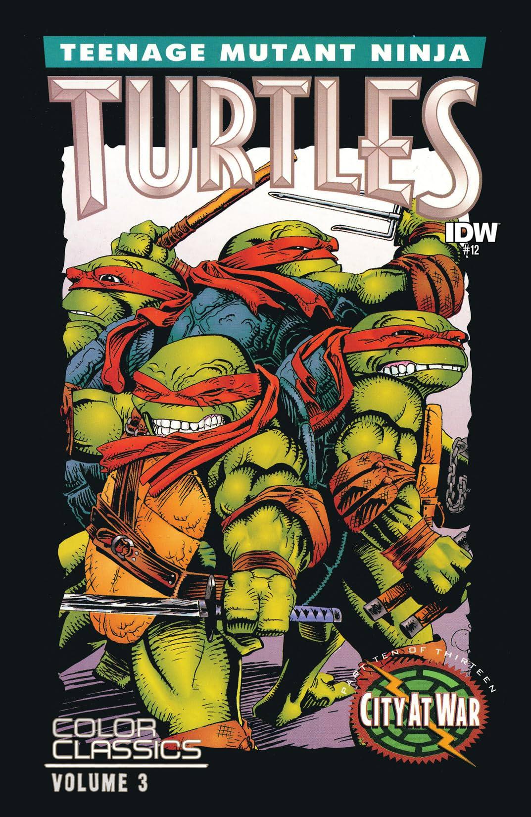 Teenage Mutant Ninja Turtles: Color Classics Vol. 3 #12