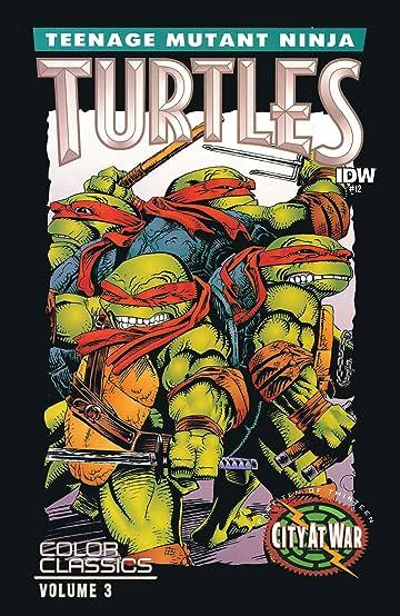 teenage mutant ninja turtles color classics vol 3 12 comics by