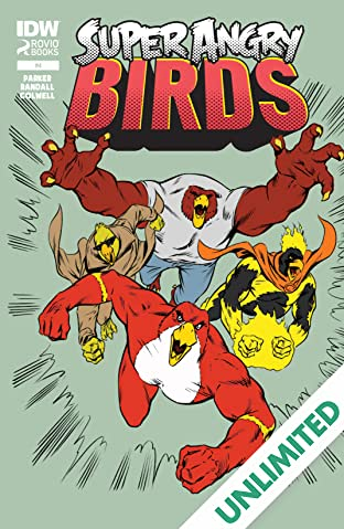 Super Angry Birds #4 (of 4)