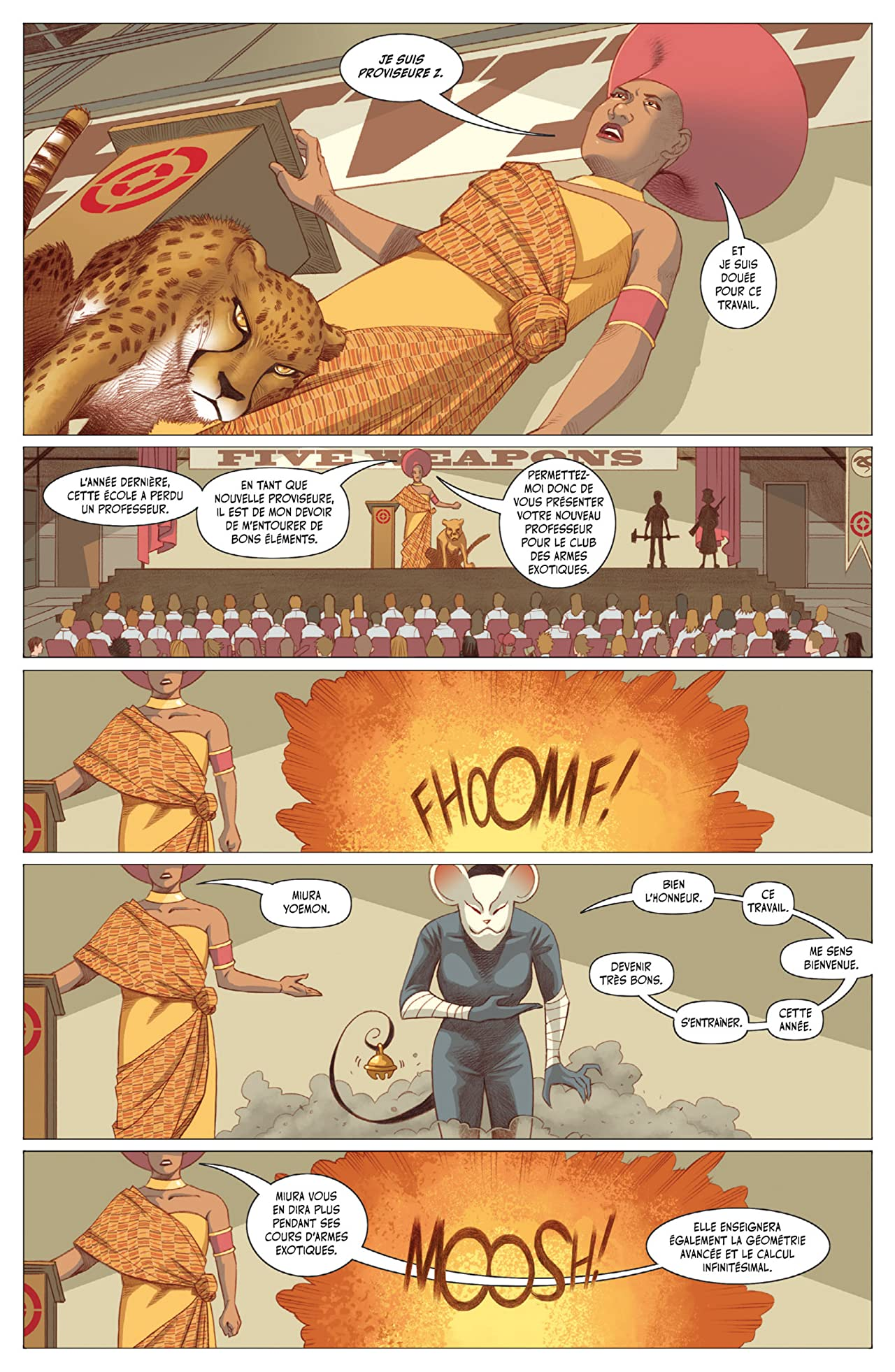 Five Weapons Vol. 3: Shainline contre Shainline
