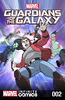 Marvel Universe Guardians of the Galaxy Infinite Comic #2